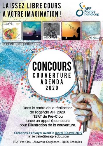 AFFICHE Concours Agenda 2020 - APF France handicap.jpg